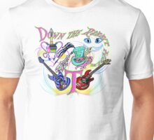 Down the Rabbit Hole - White Unisex T-Shirt