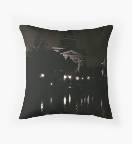Leiden At Dusk III Throw Pillow