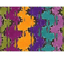 Colorful spots Photographic Print