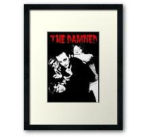 THE DAMNED 1979 T-Shirt Framed Print