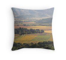 autumn 2, Napa Valley , California Throw Pillow