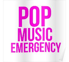 POP MUSIC EMERGENCY Poster