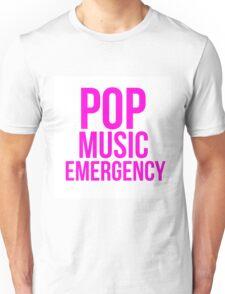 POP MUSIC EMERGENCY Unisex T-Shirt