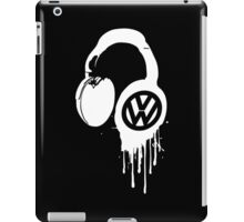 VW Bleeding Headphone iPad Case/Skin
