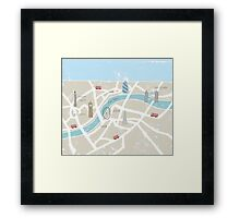 Map of London Framed Print