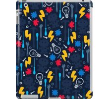 Young Engineer - blue jeans iPad Case/Skin
