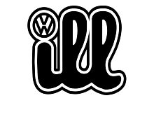 VW iLL Logo Photographic Print