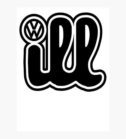 VW iLL Logo Photographic Print