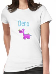 deno Womens Fitted T-Shirt
