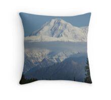 Mount McKinley Throw Pillow