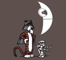 Darth Hobbes and Calvin Trooper by AndreusD