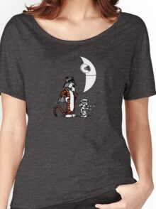 Darth Hobbes and Calvin Trooper Women's Relaxed Fit T-Shirt