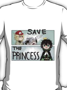 save the princess! T-Shirt