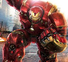 Avengers Age Of Ultron: Hulkbuster by modernmistakes