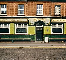 Waiting for the pub to open, UK, 1980s by David A. L. Davies
