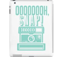 Oh Snap Camera Flash Design iPad Case/Skin