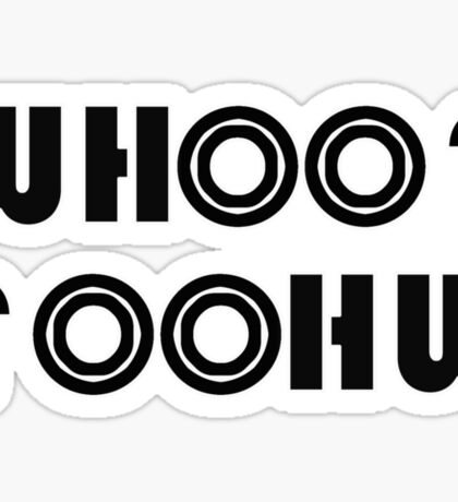 WHOO Sticker