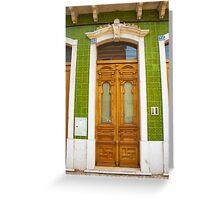 beautiful door. Greeting Card
