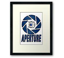 Portal 2 Aperture science Wheatly Framed Print