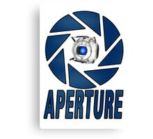 Portal 2 Aperture science Wheatly Canvas Print