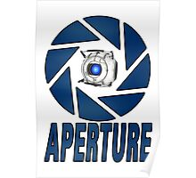 Portal 2 Aperture science Wheatly Poster