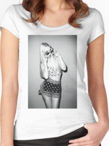 Iggy Azalea Women's Fitted Scoop T-Shirt