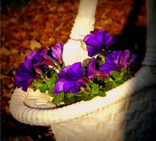 A basket of posie's by heechasky