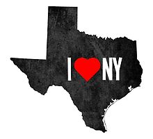 I Heart TX by binarygod