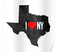 I Heart TX Poster