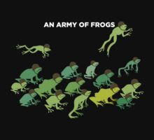 An Army of Frogs Kids Clothes