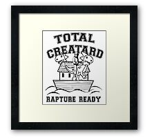 TOTAL CREATARD Framed Print