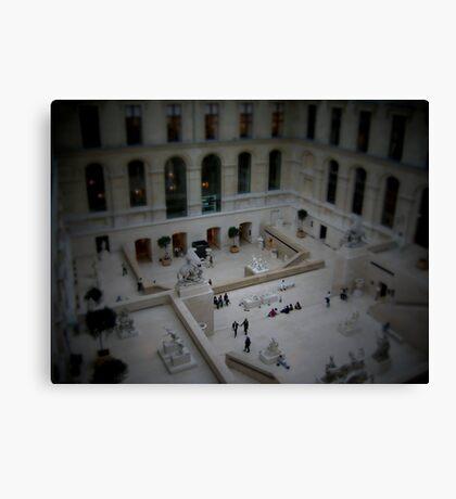 Mini Plaza Canvas Print