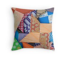 Origami Stars Throw Pillow