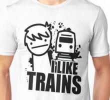 i like a trains bitch Unisex T-Shirt