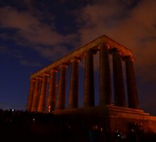 Edinburgh Acropolis by Pete Johnston
