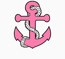 Pink Anchor Womens Fitted T-Shirt
