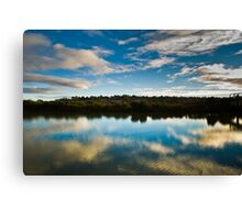 Centered reflection Canvas Print