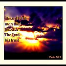 Blessed Is The Man That Maketh The Lord His Trust by Vince Scaglione