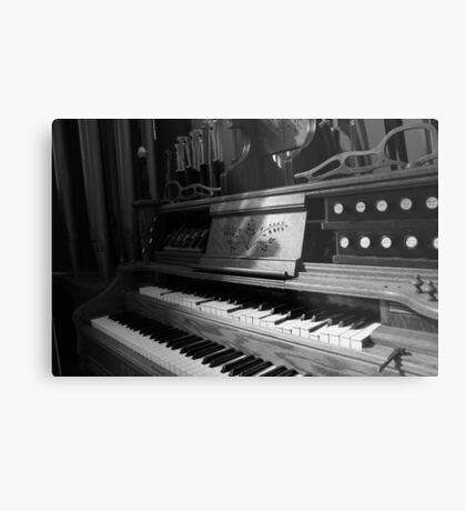 Steampunk Organ Metal Print
