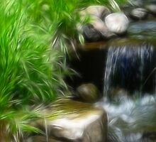 Water Fall-ing by Sunflwrconcepts