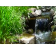 Water Fall-ing Photographic Print