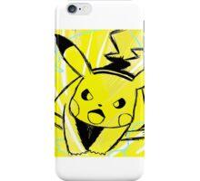 Pikachu Volt Tackle  iPhone Case/Skin