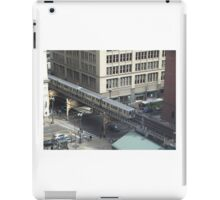 Chicago Illinois USA Street Scene From Above iPad Case/Skin