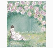 PRINCESS OF ROSES DREAMING UNDER A ROSE ARCHE T-Shirt