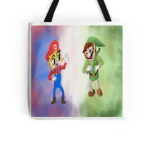 Nintendo Mash Up  Tote Bag