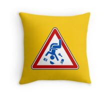 Secure Loose Articles Throw Pillow