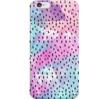 Pink, Teal, Purple, and Blue Abstract Watercolor iPhone Case/Skin