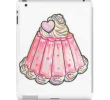 Cute pink jelly pudding iPad Case/Skin