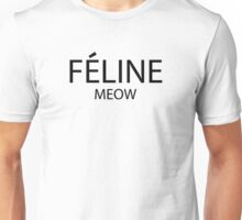 Feline Meow Unisex T-Shirt