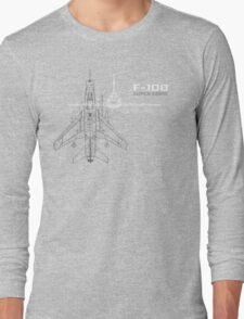 F-100 Super Sabre Long Sleeve T-Shirt